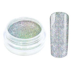 Galaxy nailart hologram glitters