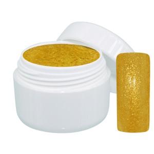 Extreme sparkle gel goud