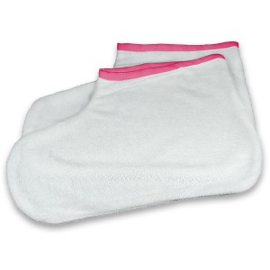 Paraffine badstof voeten warmer
