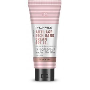 Pronails Anti-Age Hand Cream Rich SPF 15 50 ml