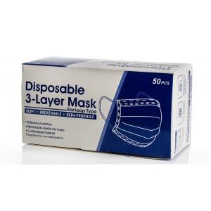 Mondmaskers blauw 10 pack