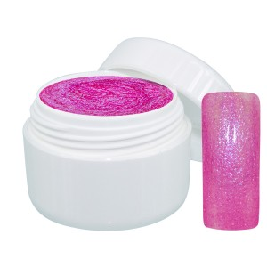 Extreme sparkle gel roze