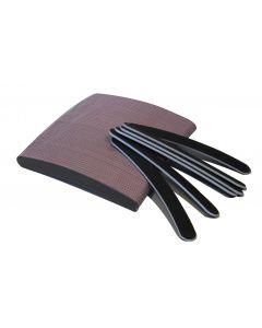 Nagelvijl boomerang zwart per pak