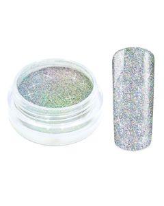 Galaxy nailart hologram glitters