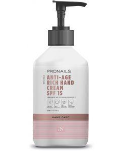 Pronails Anti-Age Hand Cream Rich SPF 15 300 ml