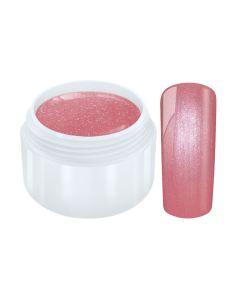Pastel color gel metallic red